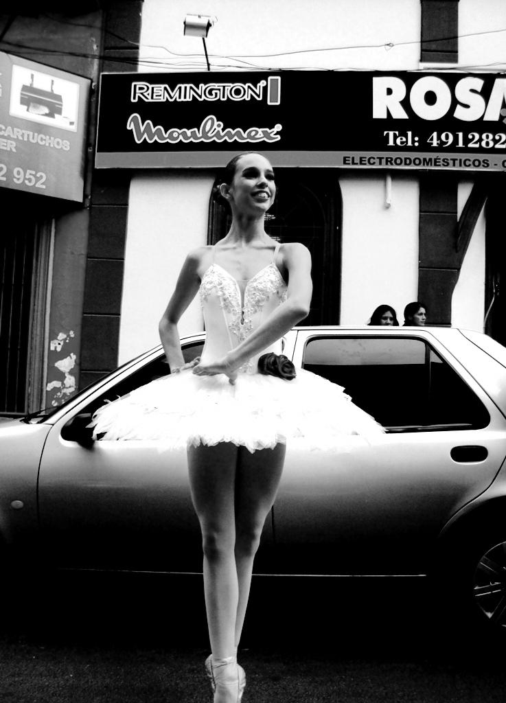 Bailarina clásica