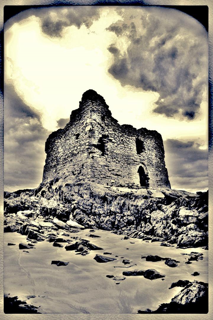 Baile an Sceilg / Ballinskelligs, Castle