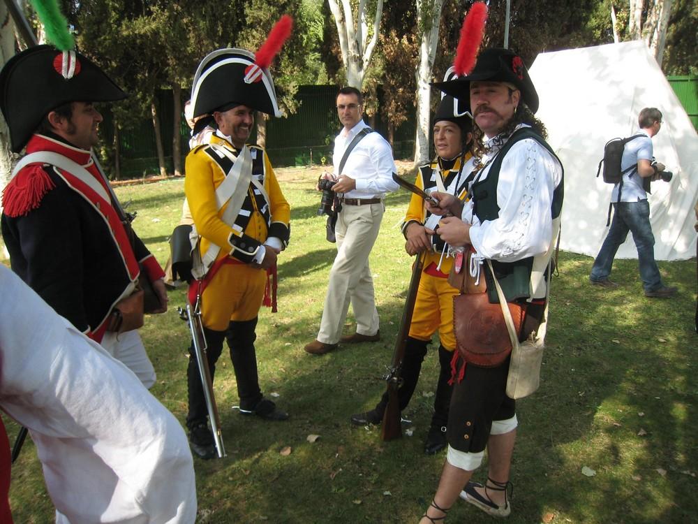 Bailèn 2008 - Troupes espagnoles au bivouac