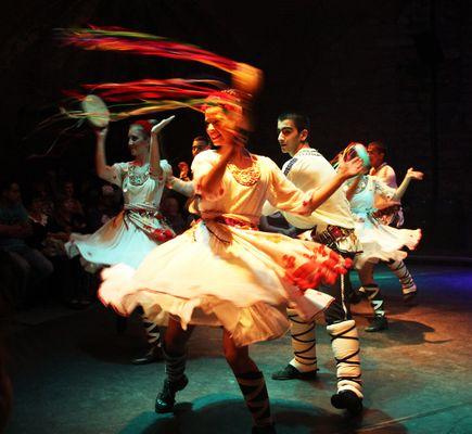 Bailes en Turquía