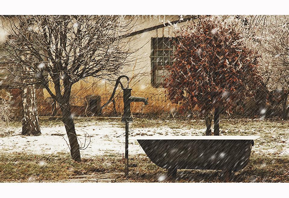 bain de neige
