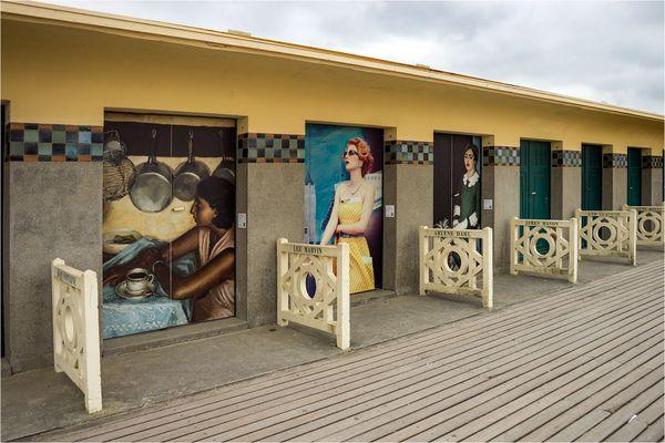 Bains Pompeiens mit Prominenten