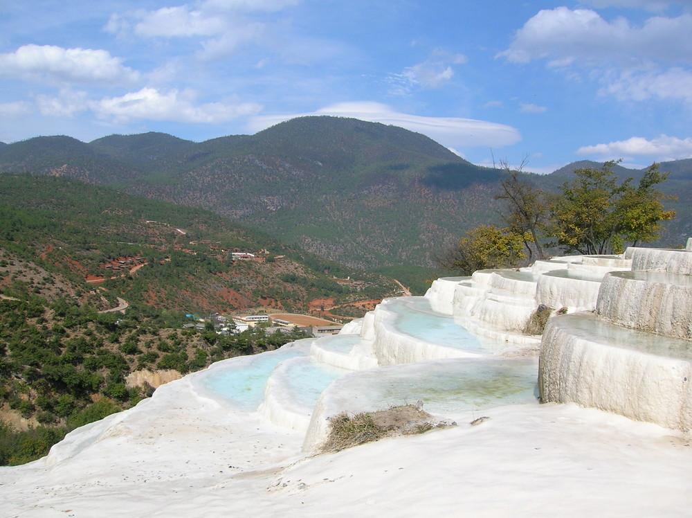 Baishuitai (Weiße Wasser - Terrasse)