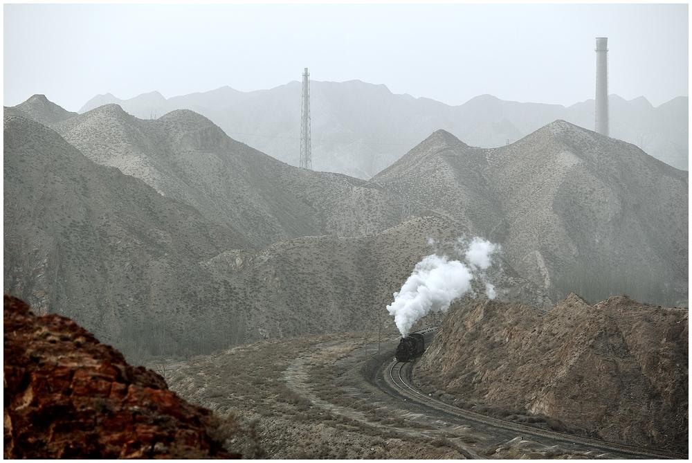 Baiyin 2013 - XXV - Die dritte morgendliche Bergfahrt