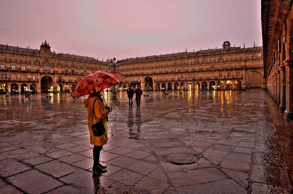 Bajo la lluvia I