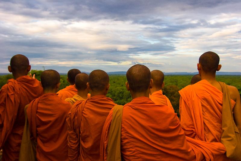 Bakheng Monks
