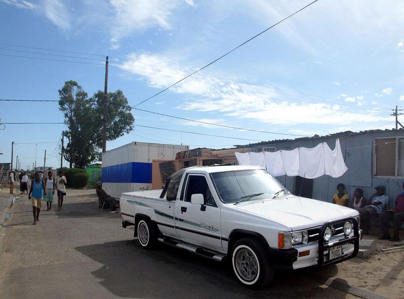 Bakkie - Khayelitsha Township