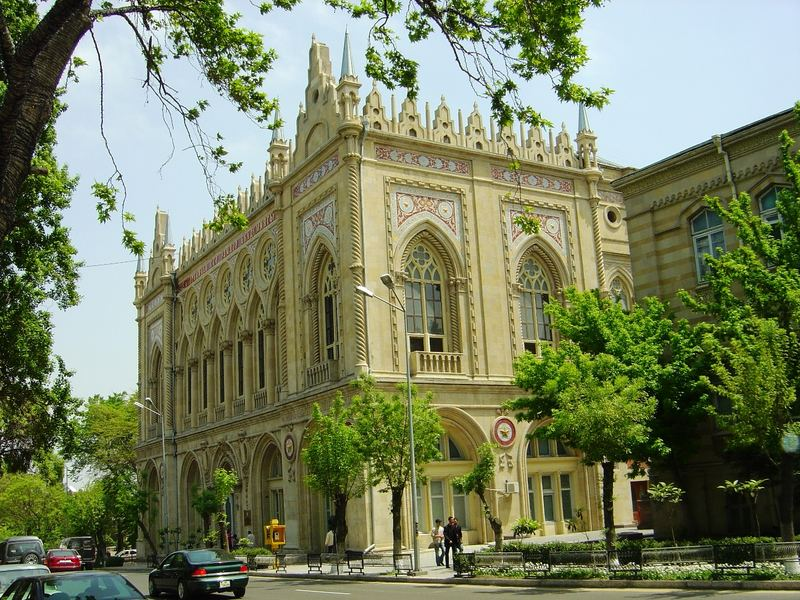 Baku - Academy of sciences