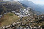 balade au dessus du col de Rousset, Drôme,Vercors.