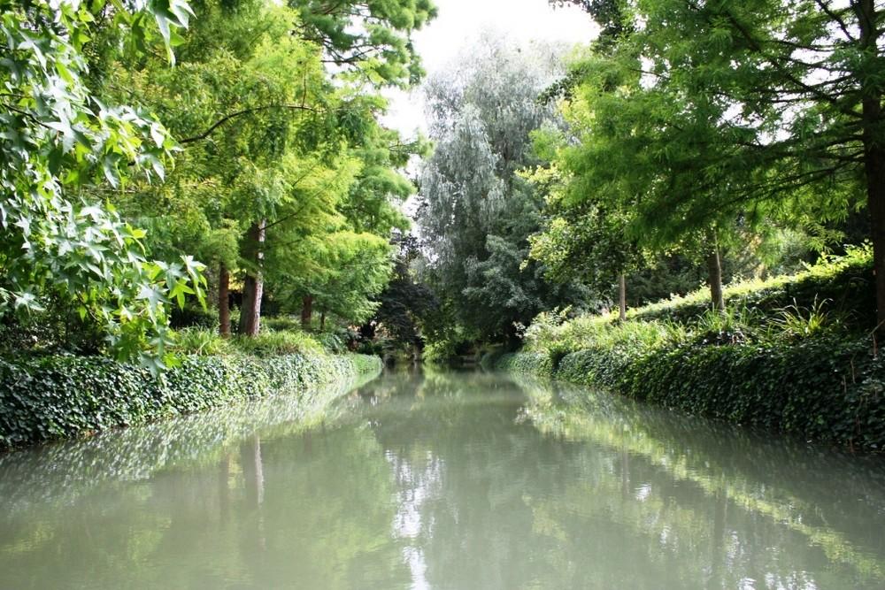 Balade en barque à Châlons en Champagne