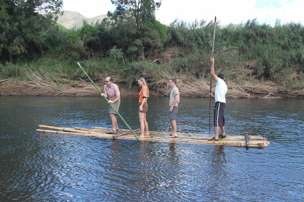Balade en radeau à la tribu de saint-paul