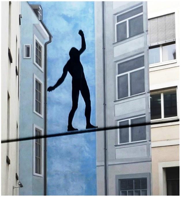 balance durchs bild