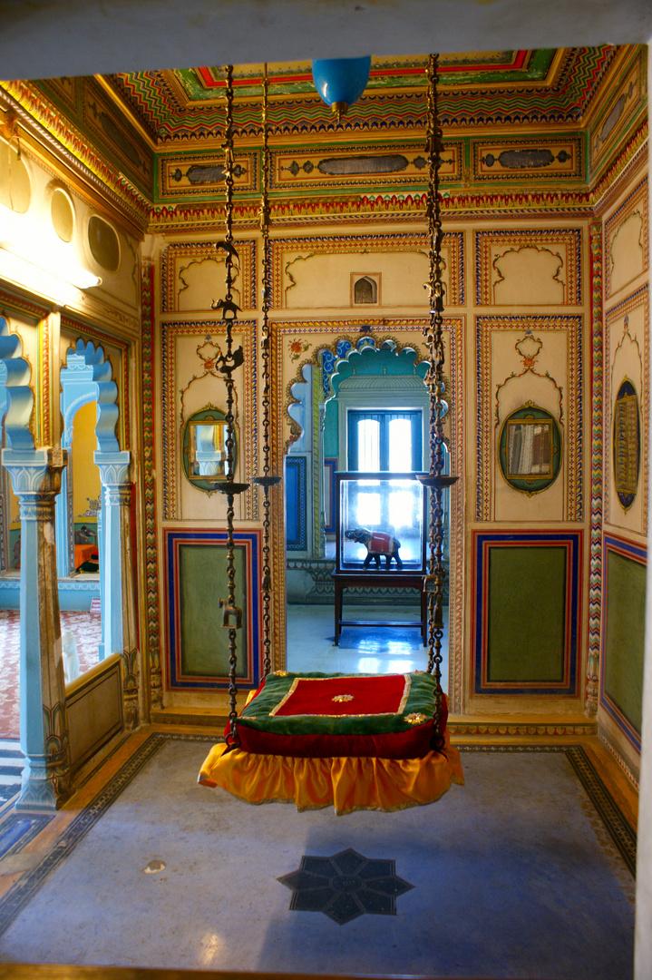 Balance inside the City Palace, Udaipur