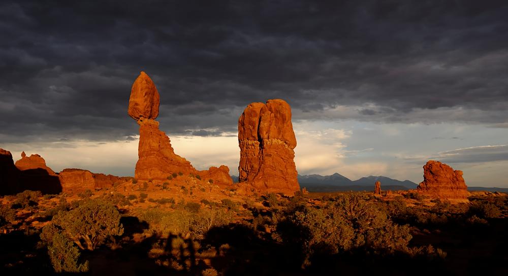 Balanced Rock Sunset II