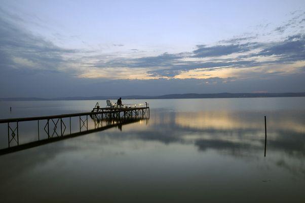 Balaton fisherman