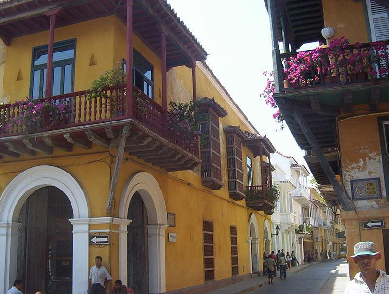 Balcón cartagenero