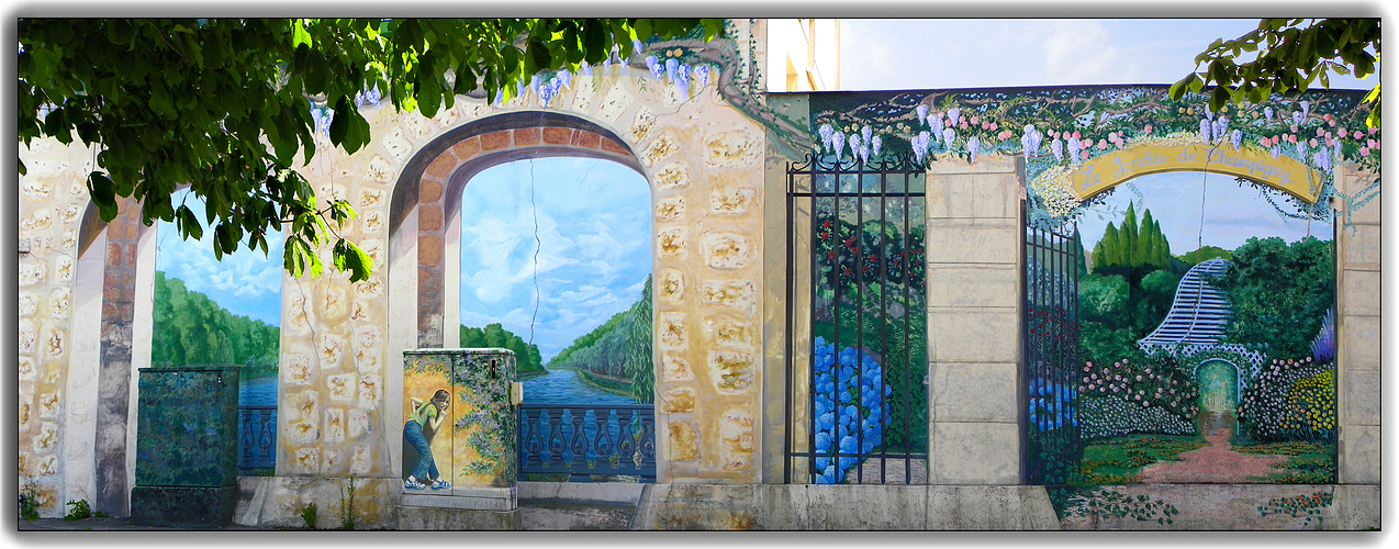 Balcon sur la Marne .