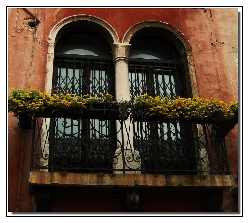 Balcon vénitien