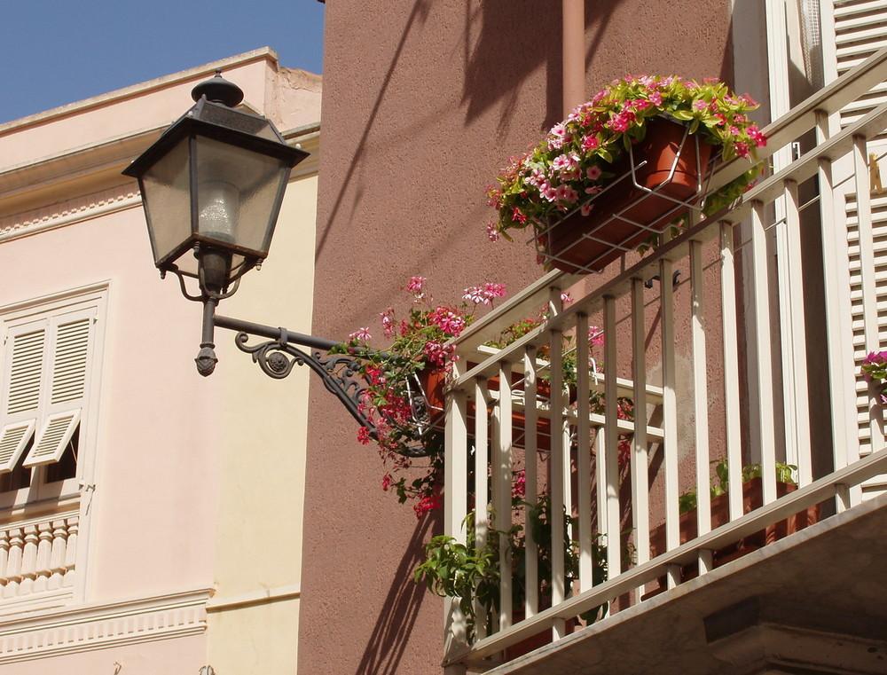 Balcone a Carloforte