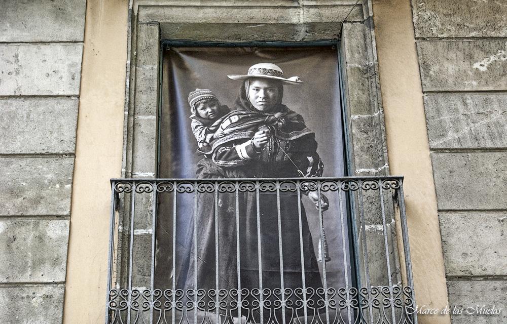 ...balcones de Barcelona...