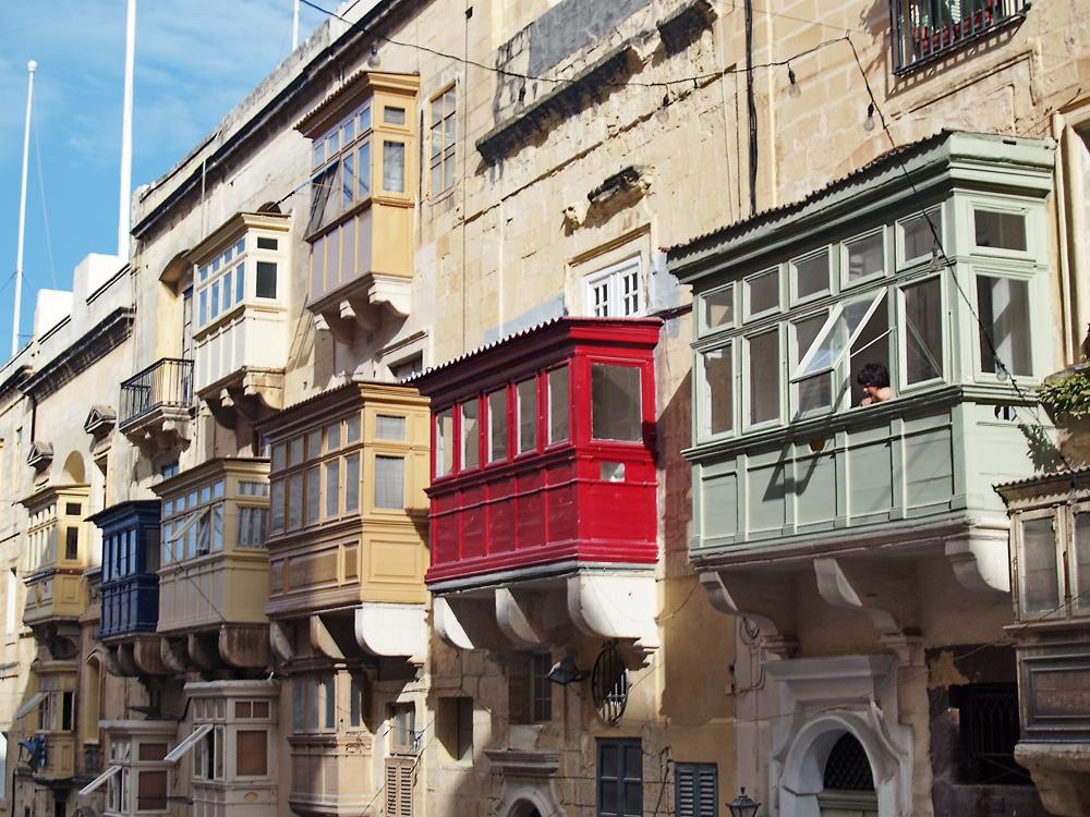 Balconies of Malta