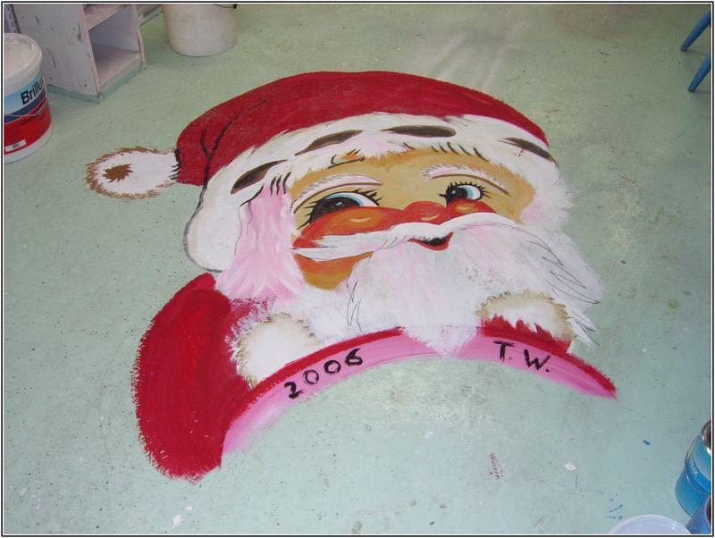 Bald kommt der Weihnachtsmann.....