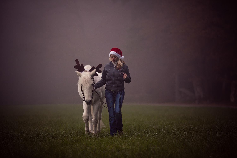 **bald kommt die Weihnachtsfrau**