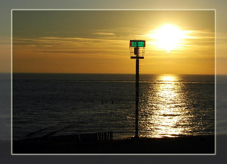 Bald küsst die Sonne das Meer...