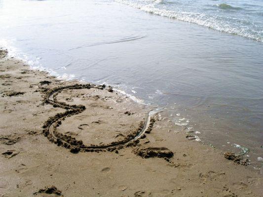 """Bald wird das Meer mein Herz """"verschluckt"""" haben"""