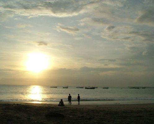 Bali - Abendstimmung am Strand von Jimbaran