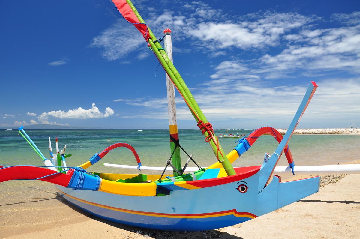 Bali Beach Boat