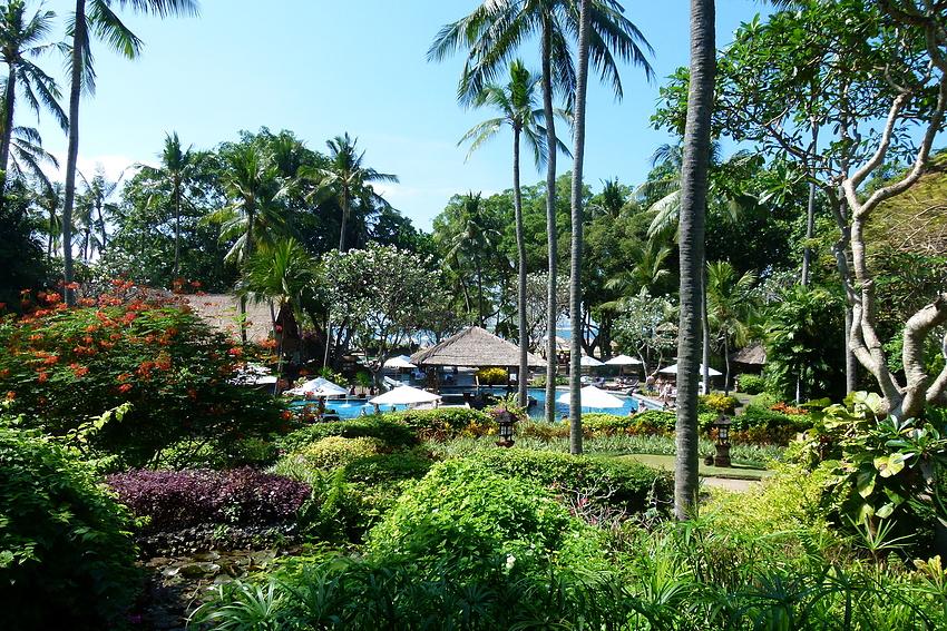 ...Bali Hyatt Ausblicke...