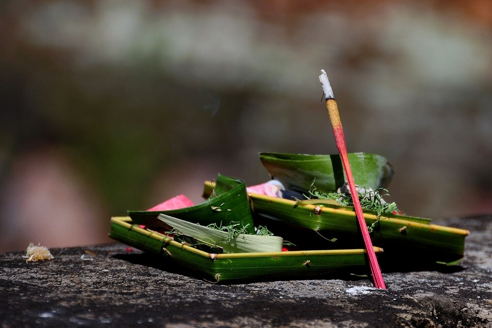 Bali – Opfergaben