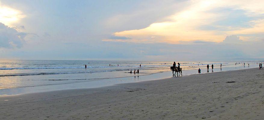 Bali, Strand von Kuta, Legian und Seminyak