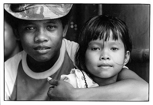 Balinesische Geschwister