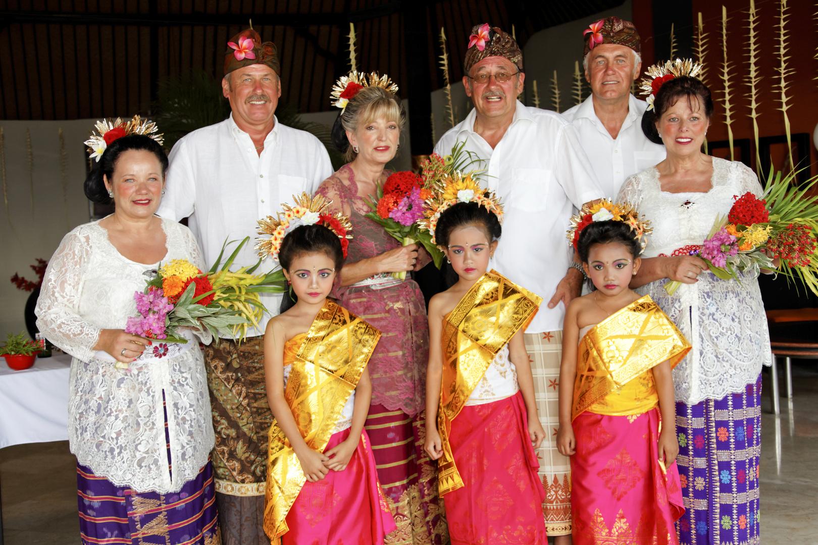 Balinesische Hochzeitszeremonie (2)