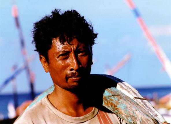 Balinesischer Fischer