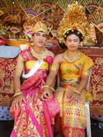 balinesisches Hochzeitspaar