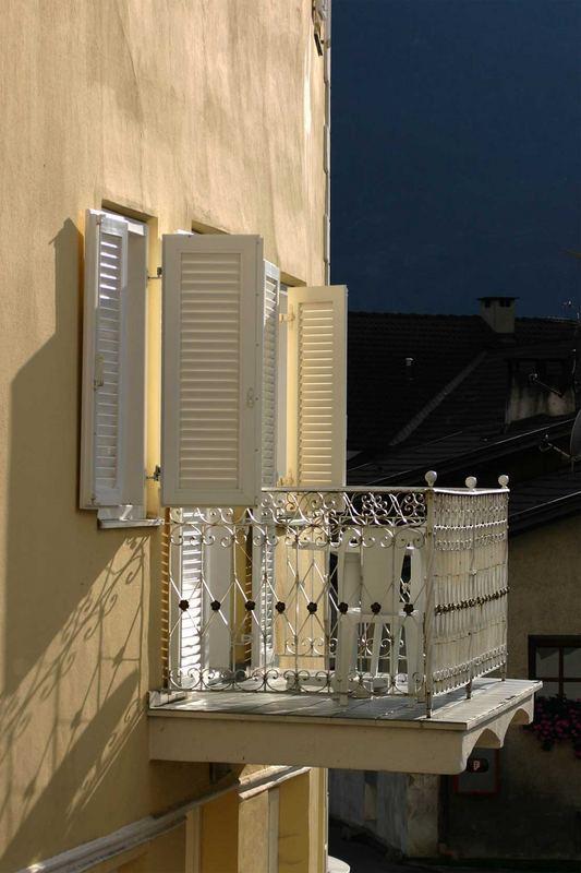 Balkon in Schluderns