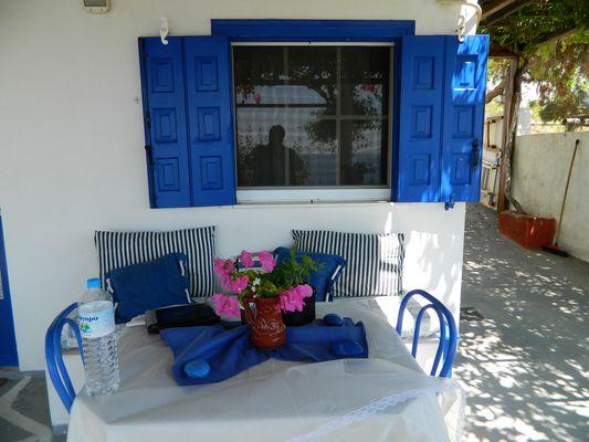 Balkon in Skyros