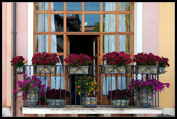 Balkon in Taormina