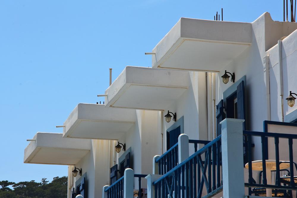 Balkone in Sougia