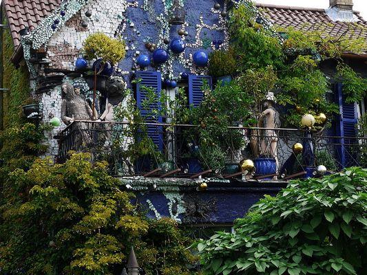 Balkonien abstrakt