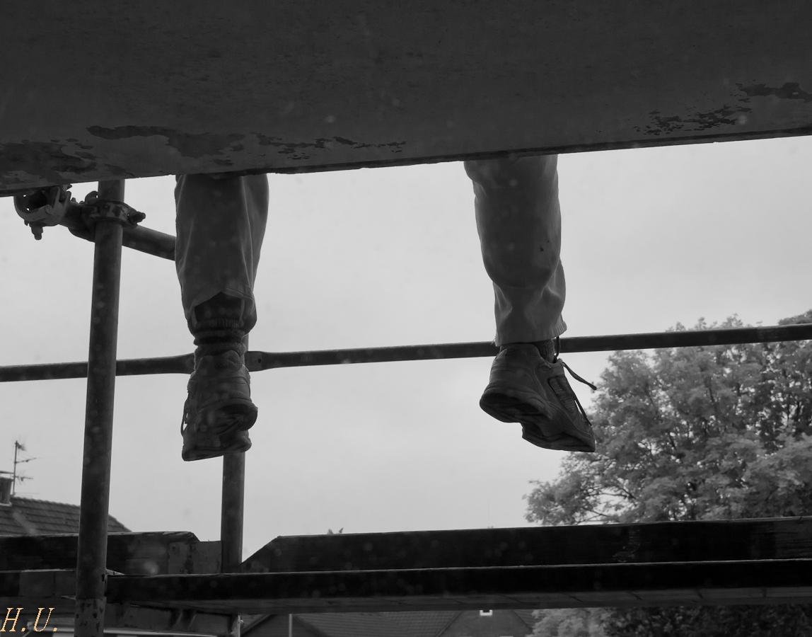 Balkonsanierer-Pause