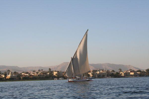 Ballade en Felouque sur le Nil