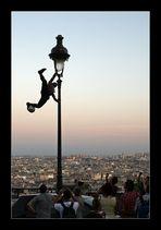Ballartist über Paris, die zweite