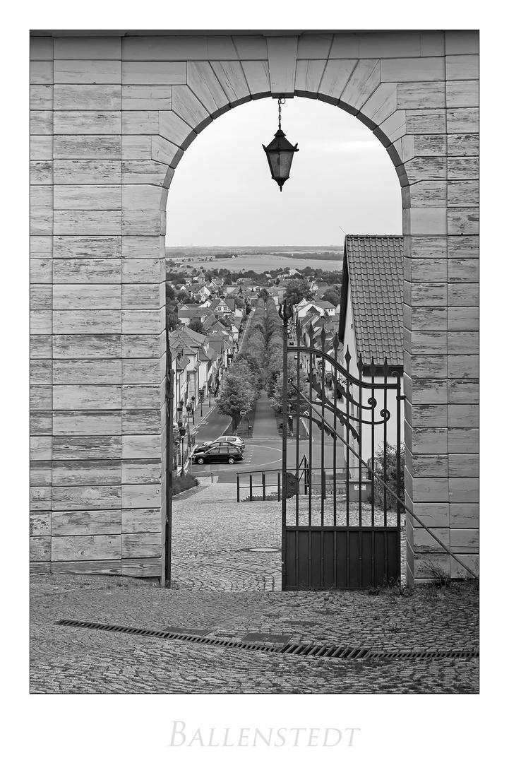 """Ballenstedt """" Blick auf die Stadt...."""""""