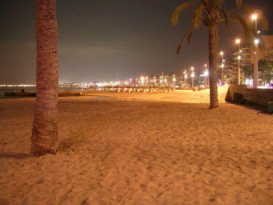 Ballermann bei Nacht