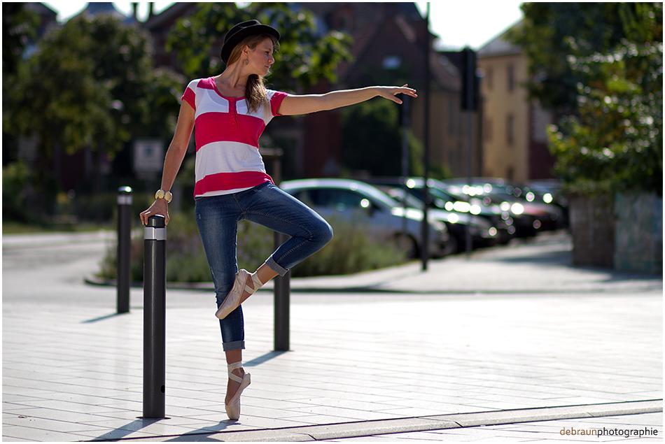 Ballet in der Stadt I