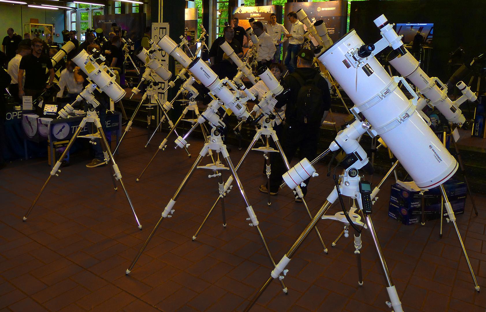 Ballett der Teleskope
